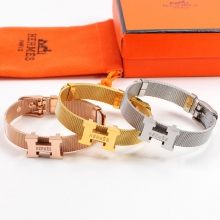 Hermes Bracelet Classic fashion fashion jewelry titanium bracelets for women men