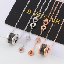 Bvlgari charity small red necklace, ceramic lovers, men and women, sweater chain wholesale