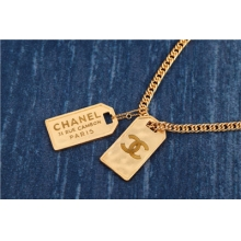 chanel new letter necklac